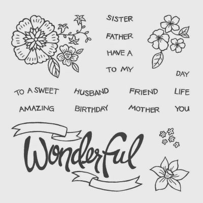 You're Wonderful and Stampin' Up!'s Weekly Deals