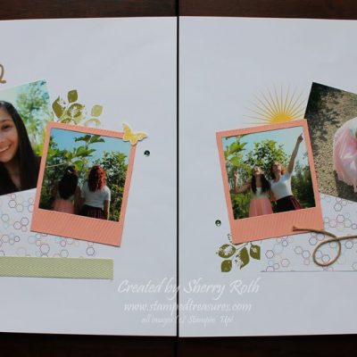 Scrapbook Saturday – Beautiful Layout