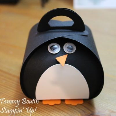 Curvy Keepsake Penguin