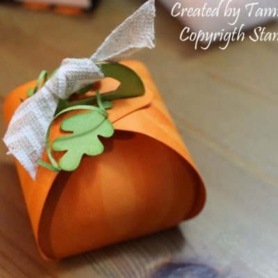 Curvy Keepsakes Pumpkin
