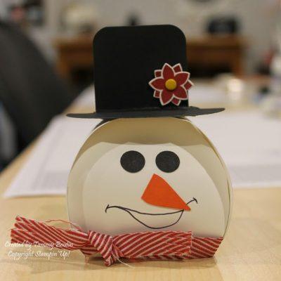 Curvy Keepsakes Snowman