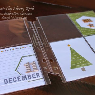 Project Life by Stampin' Up! December Album