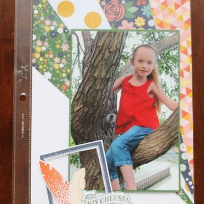 Scrapbook Saturday – 6×12 Layout