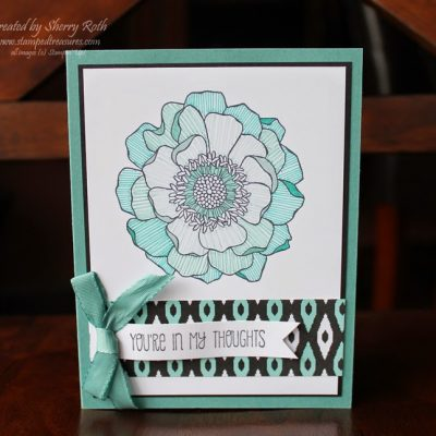 Blended Bloom Marker Technique Card