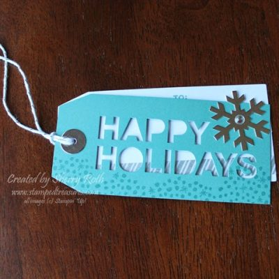 Snowflake Gift Card Holders and Tags