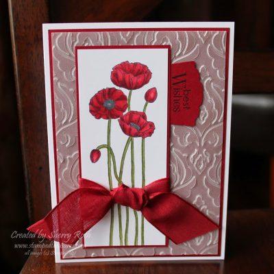 Pleasant Poppies Card