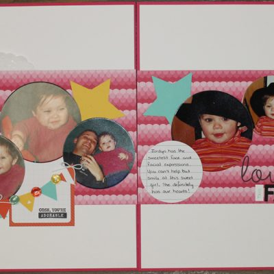 Scrapbook Saturday – Love this Face Layout