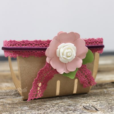 Berry Basket using Artisan Embellishment Kit
