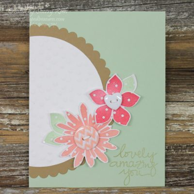 Flower Patch Card with Irresistibly Yours DSP