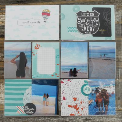 Let's Get Away Project Life by Stampin' Up!