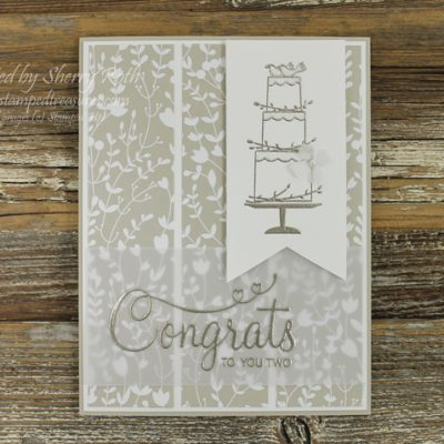 Your Perfect Day Wedding Card