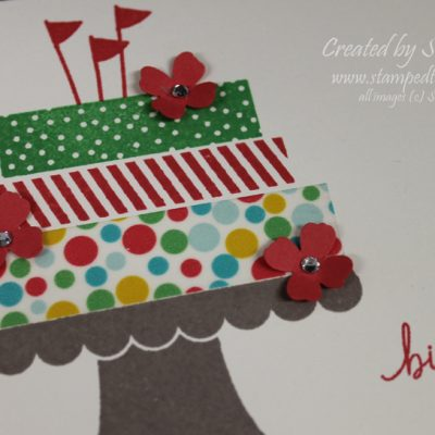 Build a Birthday One Layer Card