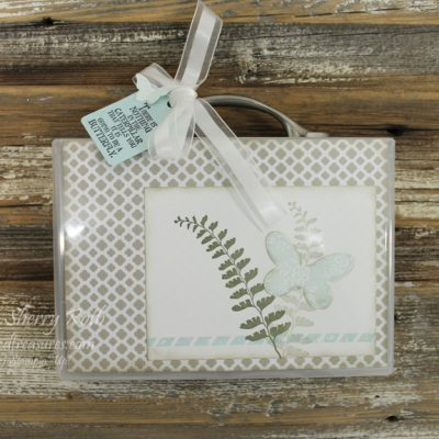 Empty Stamp Containers – Great for holding cards!