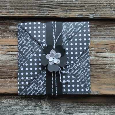 Pinwheel Fancy Fold Card with Video