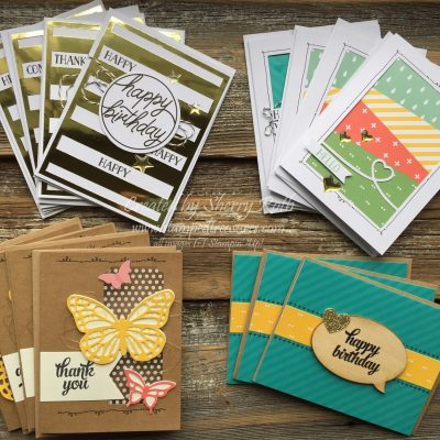 Stampin' Up!'s Tin of Cards