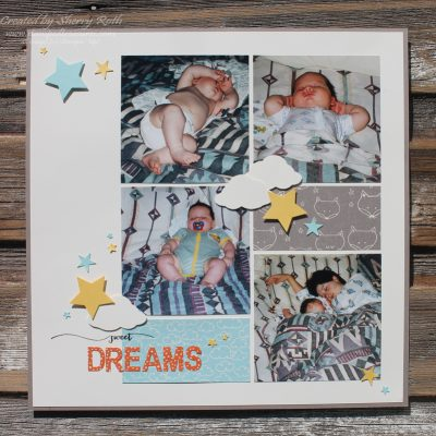 Sweet Dreams Layout