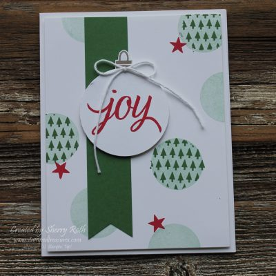 Masking with the Your Presents stamp set by Stampin' Up!
