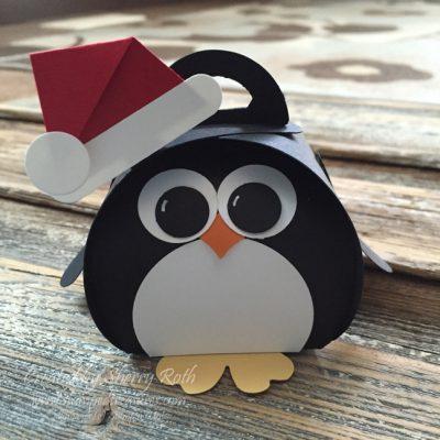 Curvy Keepsakes Penguin Punch Art