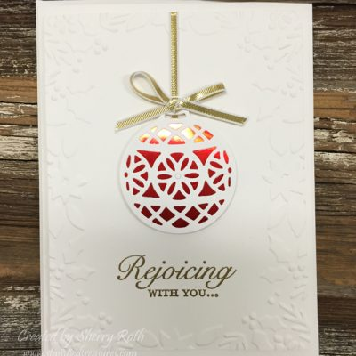 Delicate Ornament Thinlits by Stampin' Up!