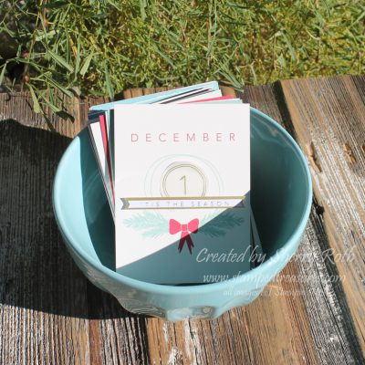 Memory Keeping Monday – Hello December 2015 Activity Advent Calendar