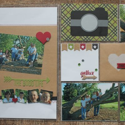 Memory Keeping Monday – Seasonal Snapshot Project Life Layout
