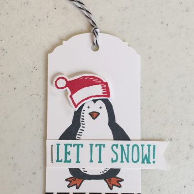 Snow Place Christmas Tag