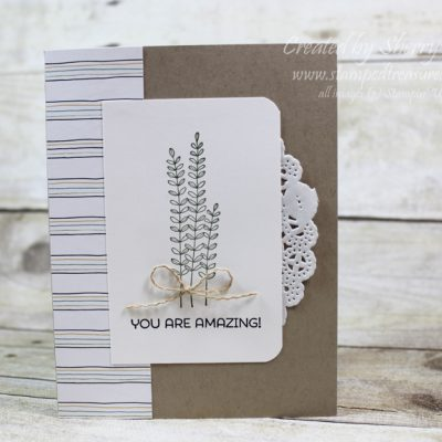 Flowering Fields and Wildflower DSP by Stampin' Up!