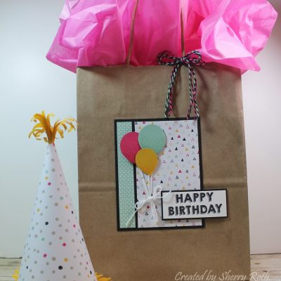 Birthday Party Decor and Gift Packaging