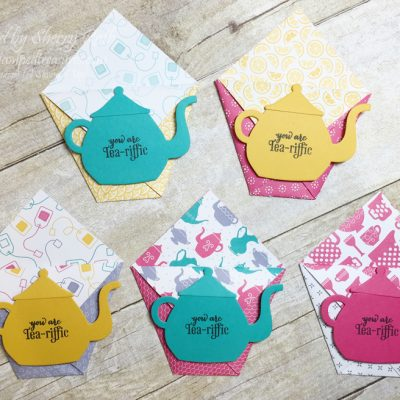 Diaper Fold Tea Bag Pouch