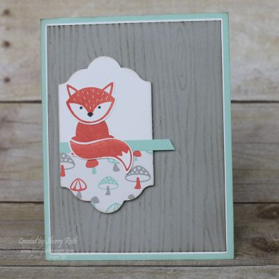 Let's Get Foxy with Stampin' Up!'s Foxy Friends