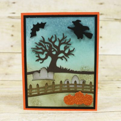 Halloween Scenes Edgelits by Stampin Up!