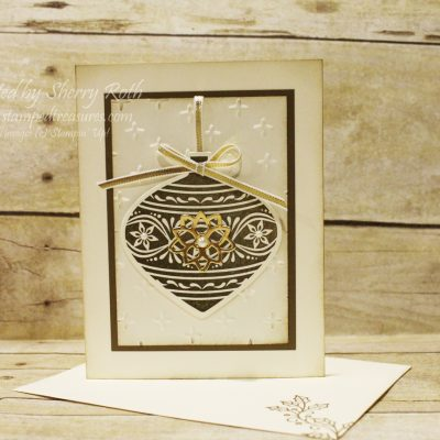 Embellished Ornaments Christmas Card and Online Extravaganza Begins Today!