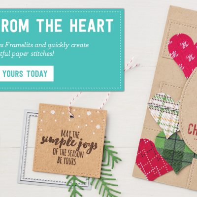 New Stitched Shapes Framelits by Stampin' Up!