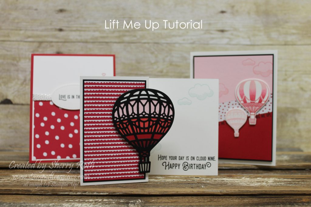 Lift Me Up Stampin Up