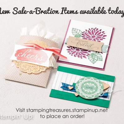 New Sale-a-Bration Offerings Available Today!