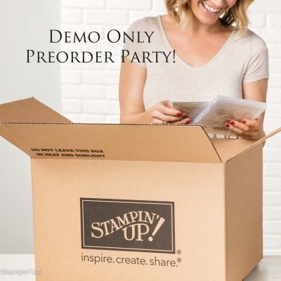 Demo Only Pre-order Party