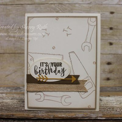 Masculine Card Ideas using the Nailed It Bundle