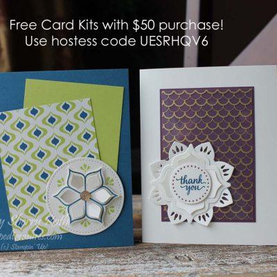 Eastern Palace Free Card Kits