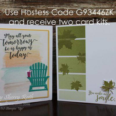Free Colorful Seasons Card Kits