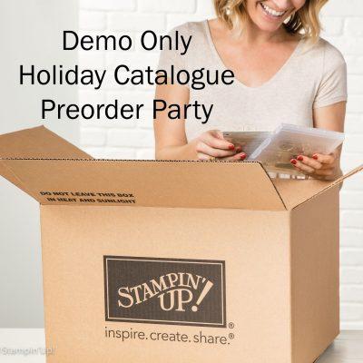 Holiday Catalogue Preorder Party