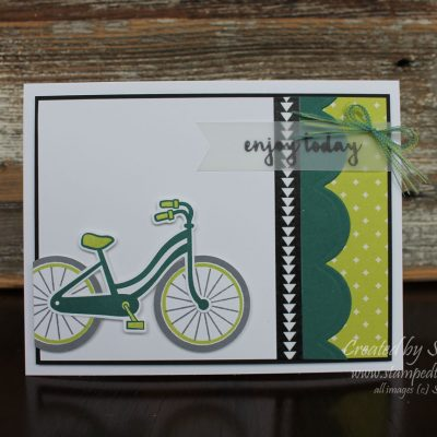 Bike Ride Swap by Stampin' Up!