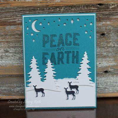 Carols of Christmas Winter Scene Card