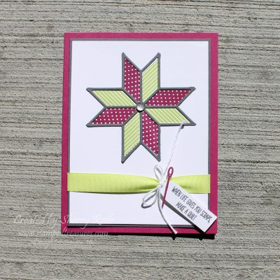 Christmas Quilt Birthday Card