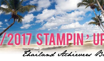 Thailand Achievers Blog Hop – Tags and Trimmings