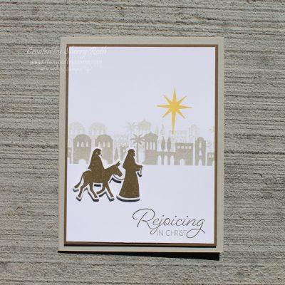 Christmas Card using the Night in Bethlehem Bundle