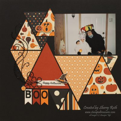 Halloween layout using Spooky Night DSP
