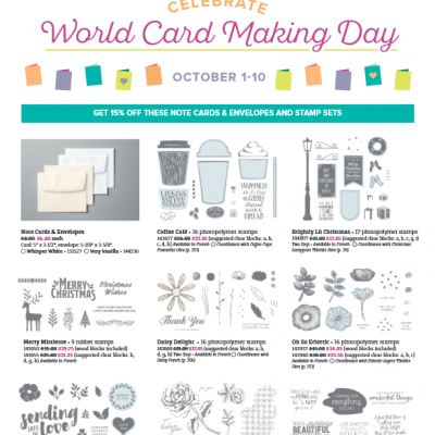 World Cardmaking Day Promotion | DSP Promotion | DSP Share