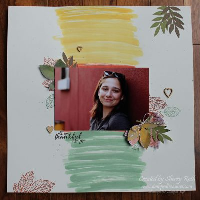 Creating a Watercolor Wash Background on a Layout
