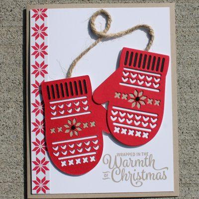 Smitten Mittens Card Two Ways