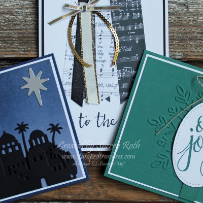 Don't miss out on making your own Christmas cards!